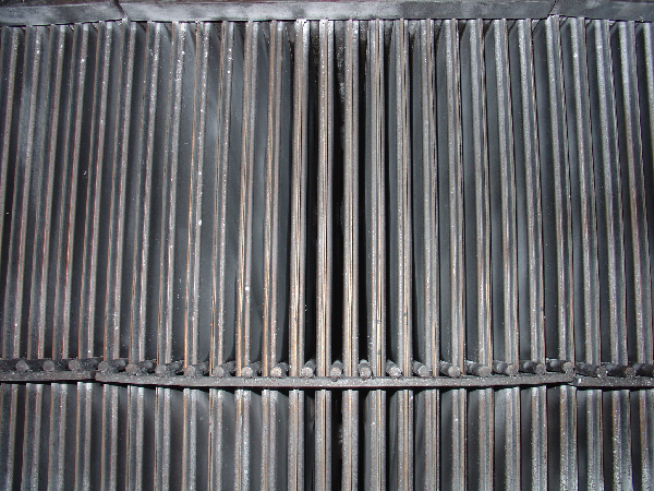 熱交換器に付着した各種汚れ 施工後